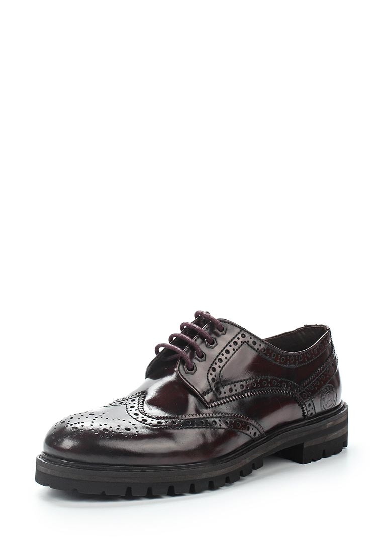 Мужские туфли Airbox (Эйрбокс) 136695  BORDO