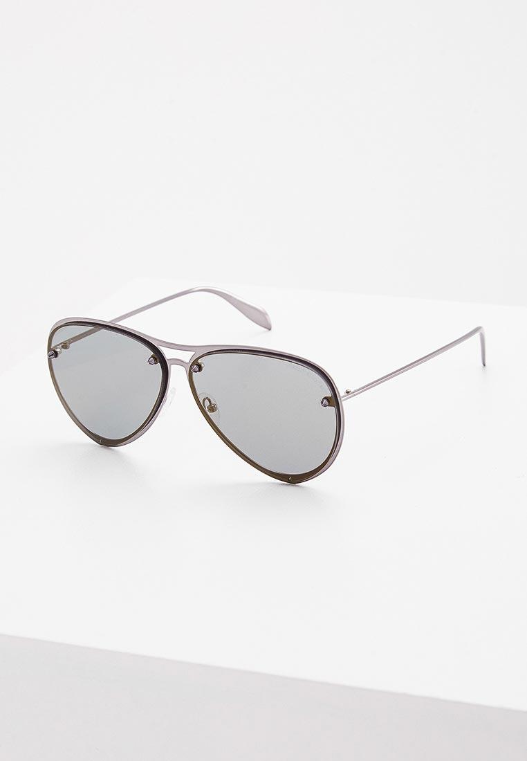 Женские солнцезащитные очки Alexander McQueen AM0102S