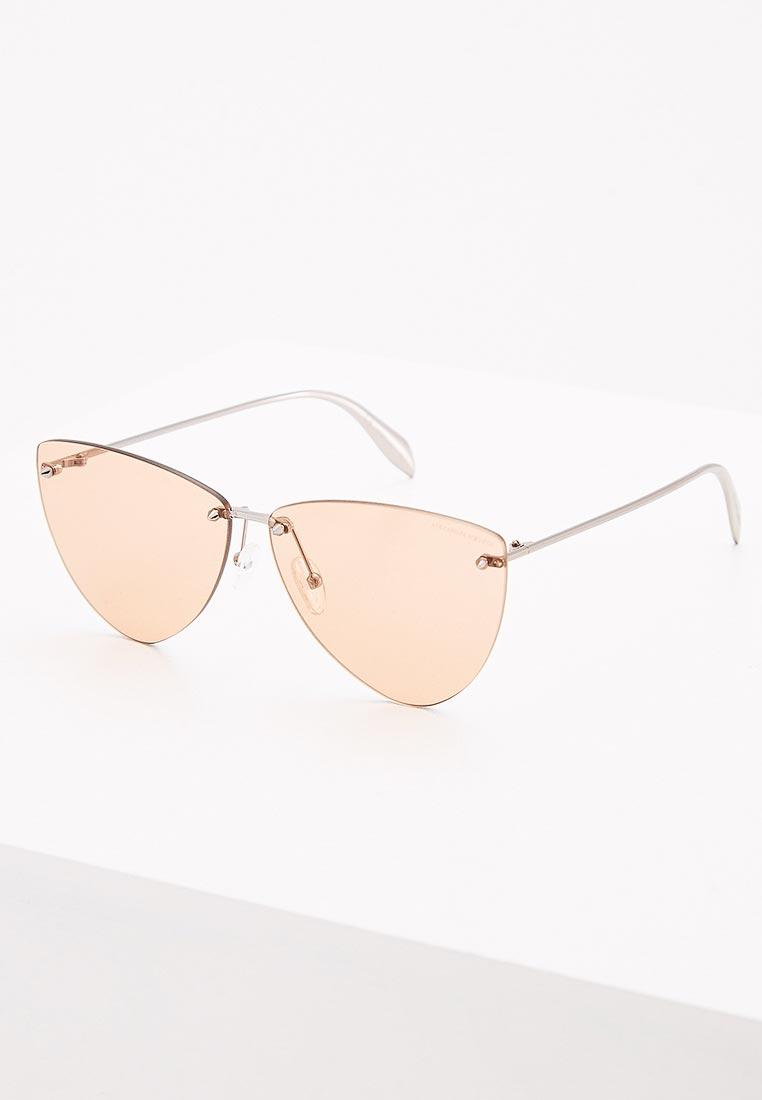Женские солнцезащитные очки Alexander McQueen AM0103S