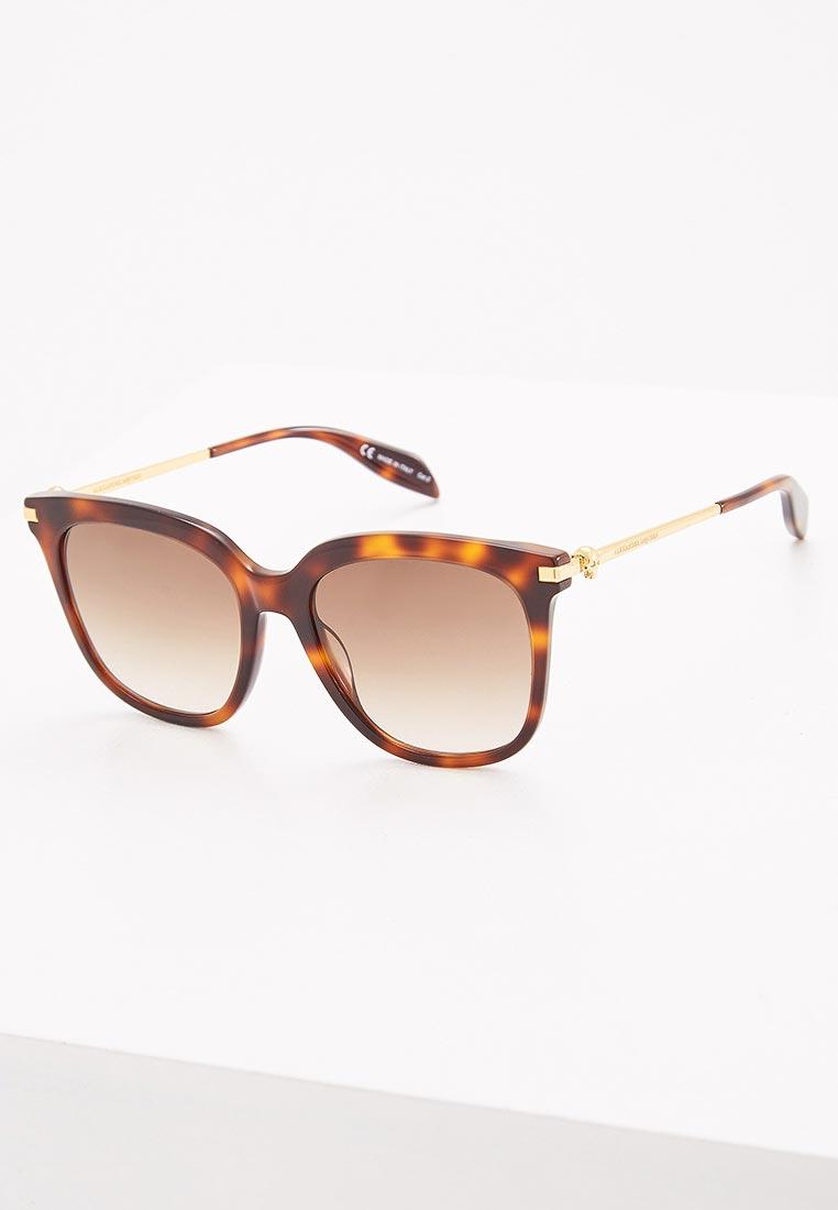 Женские солнцезащитные очки Alexander McQueen AM0107S