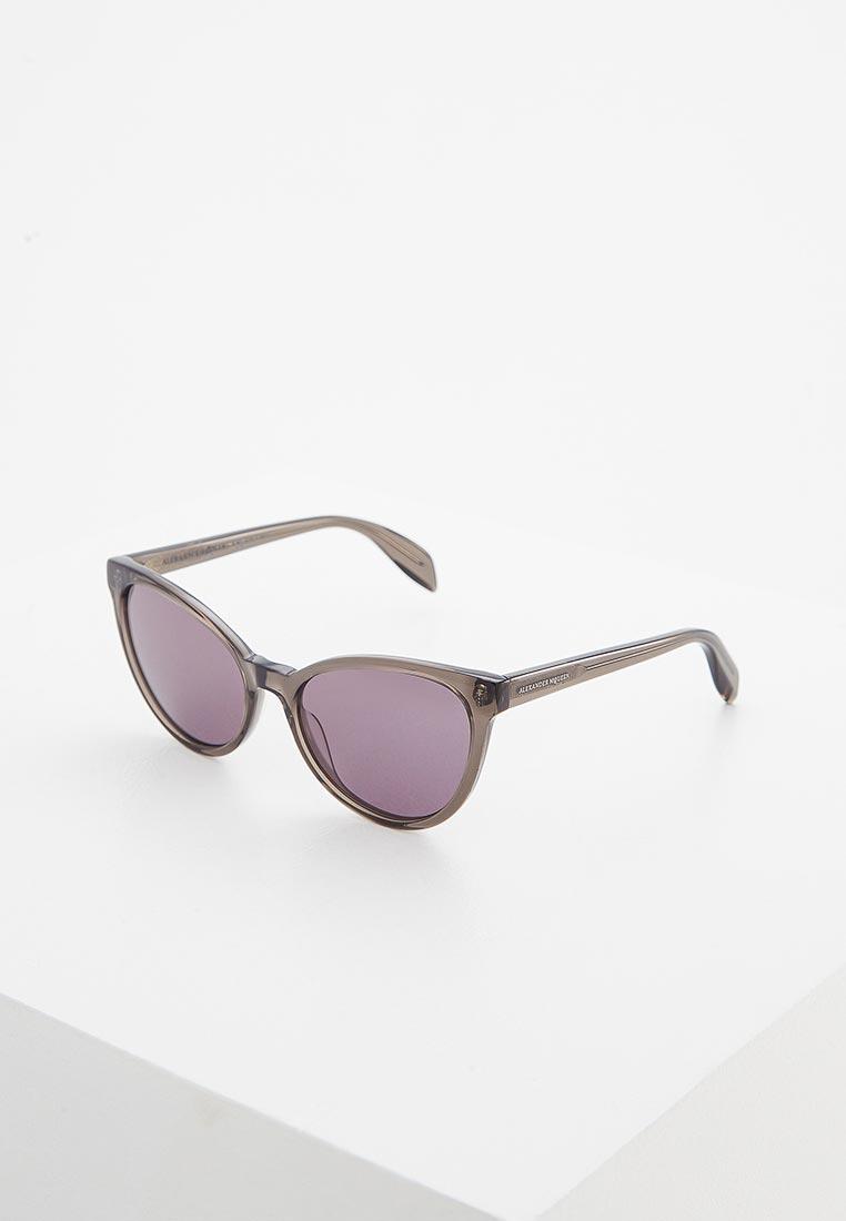 Женские солнцезащитные очки Alexander McQueen AM0111S