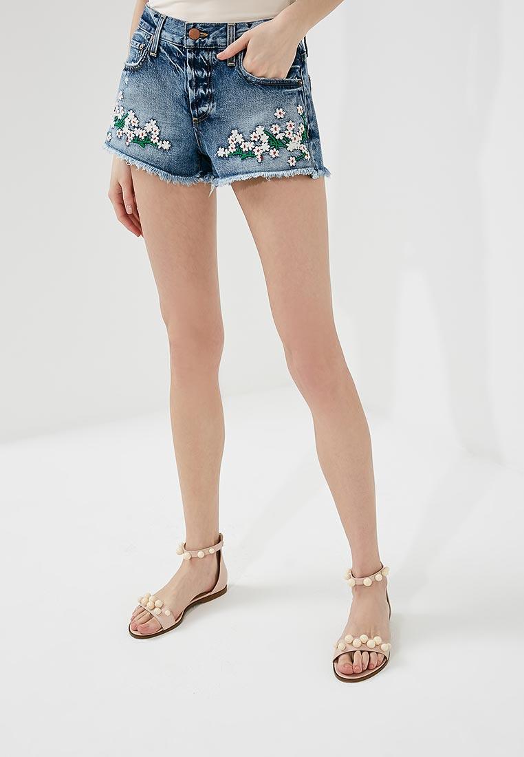 Женские джинсовые шорты Alice + Olivia CD140SXPBIN