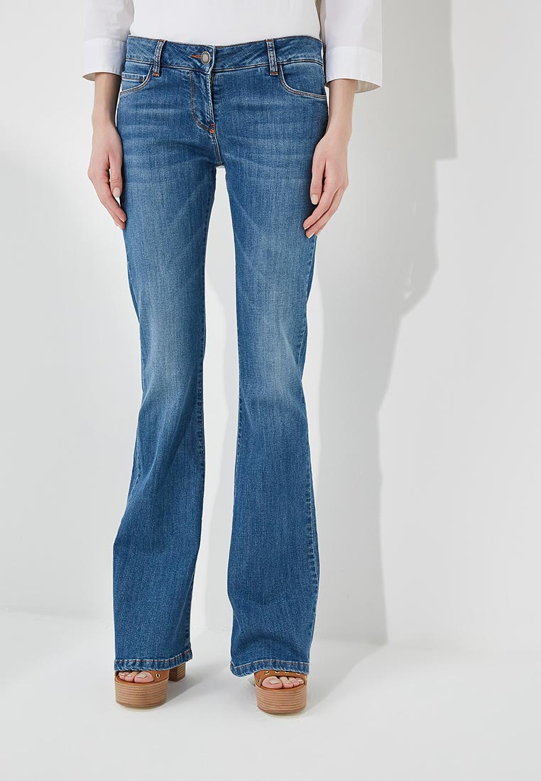 Широкие и расклешенные джинсы Alessandro Dell`acqua ADW7084WJT