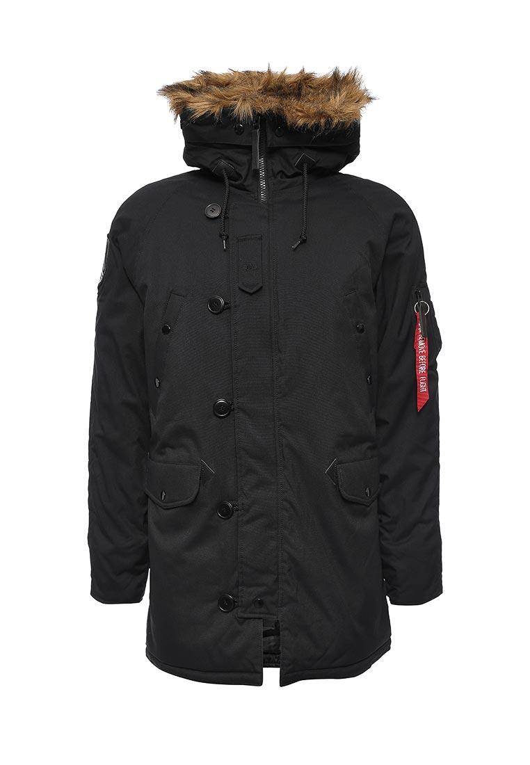 Утепленная куртка Alpha Industries (Альфа Индастриз) 199.MJA43917C1..BLACK: изображение 5