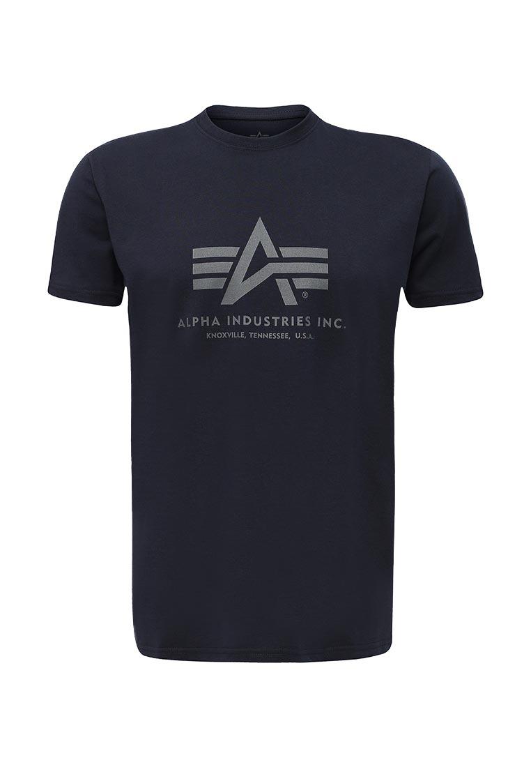 Футболка с коротким рукавом Alpha Industries (Альфа Индастриз) 100501