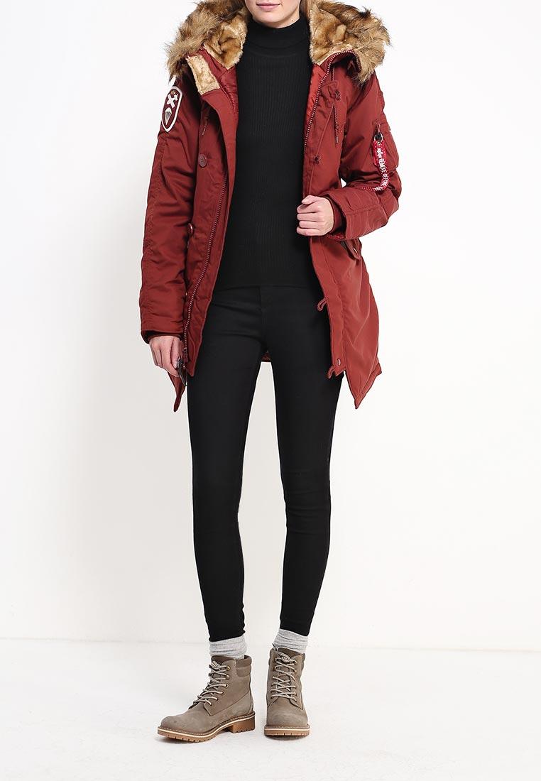Утепленная куртка Alpha Industries (Альфа Индастриз) 199.WJA44503C1..RED OCHRE: изображение 6