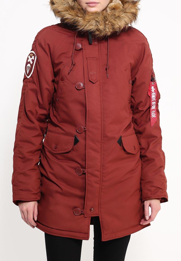 Утепленная куртка Alpha Industries (Альфа Индастриз) 199.WJA44503C1..RED OCHRE: изображение 7