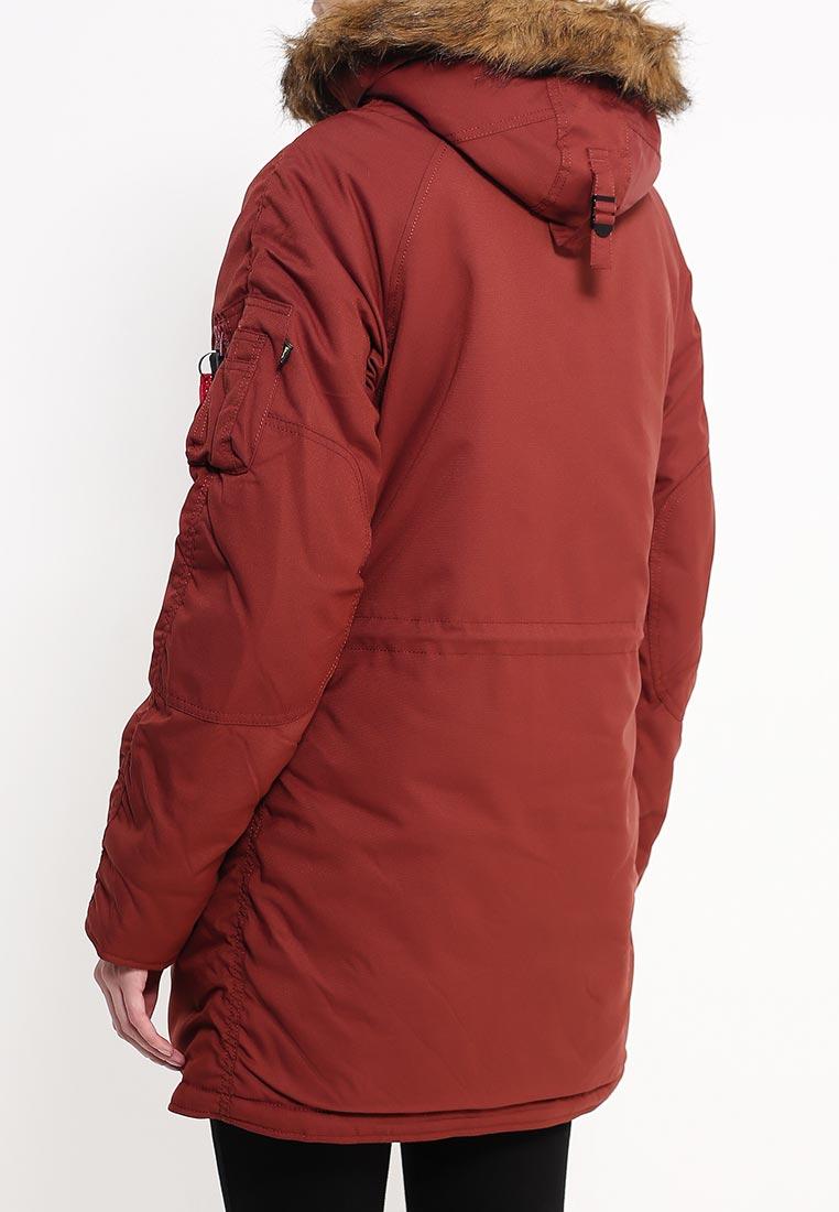 Утепленная куртка Alpha Industries (Альфа Индастриз) 199.WJA44503C1..RED OCHRE: изображение 8