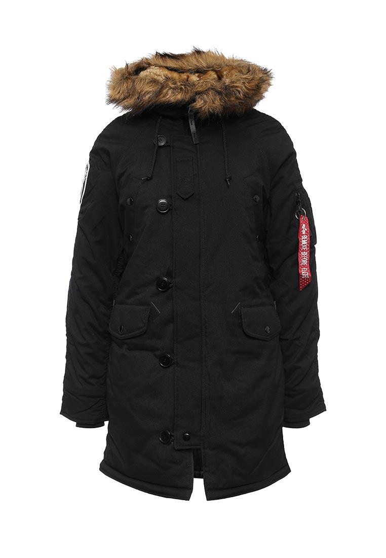 Утепленная куртка Alpha Industries (Альфа Индастриз) 199.WJA44503C1..BLACK