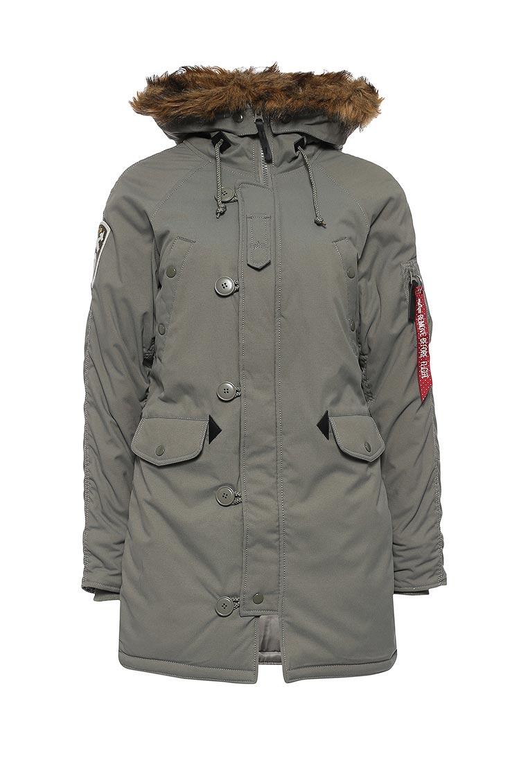 Утепленная куртка Alpha Industries (Альфа Индастриз) 199.WJA44503C1..ALASKA GREEN: изображение 5