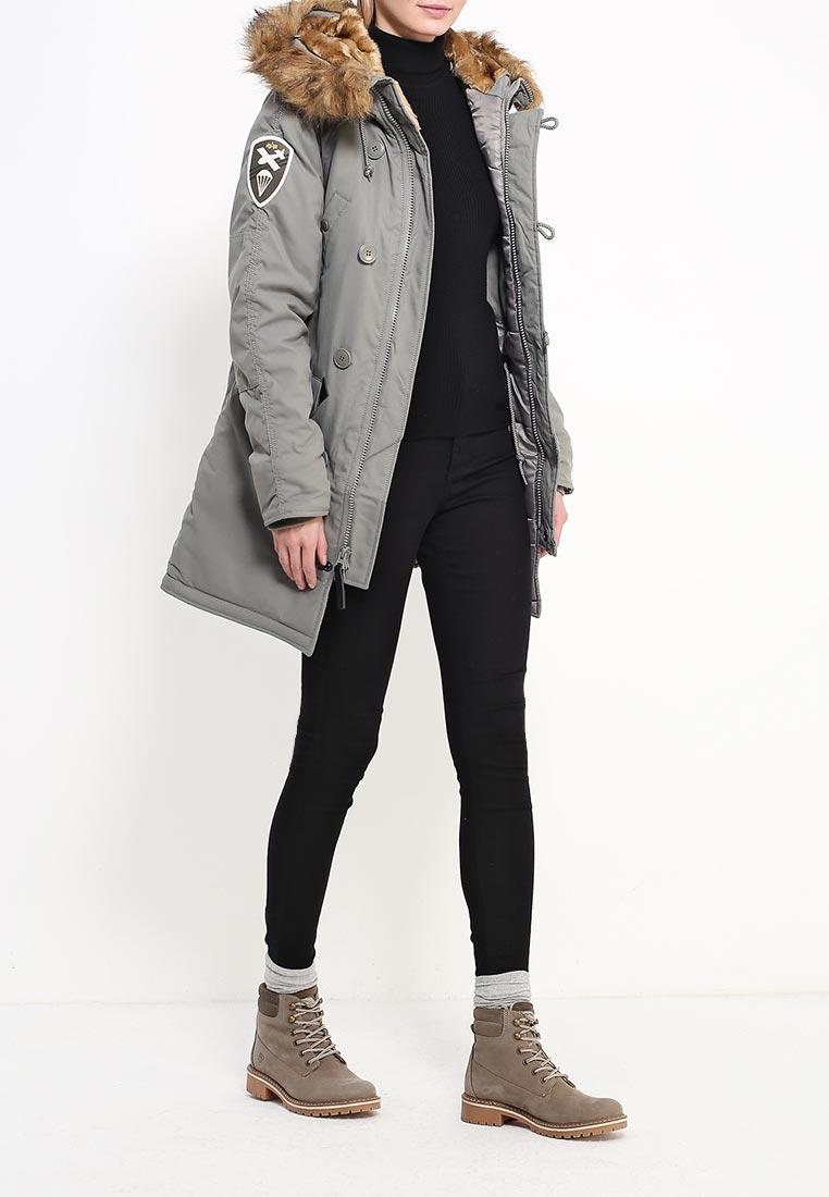 Утепленная куртка Alpha Industries (Альфа Индастриз) 199.WJA44503C1..ALASKA GREEN: изображение 6