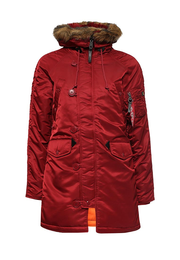 Утепленная куртка Alpha Industries (Альфа Индастриз) 199.WJN44502C1..COMMANDER RED: изображение 1