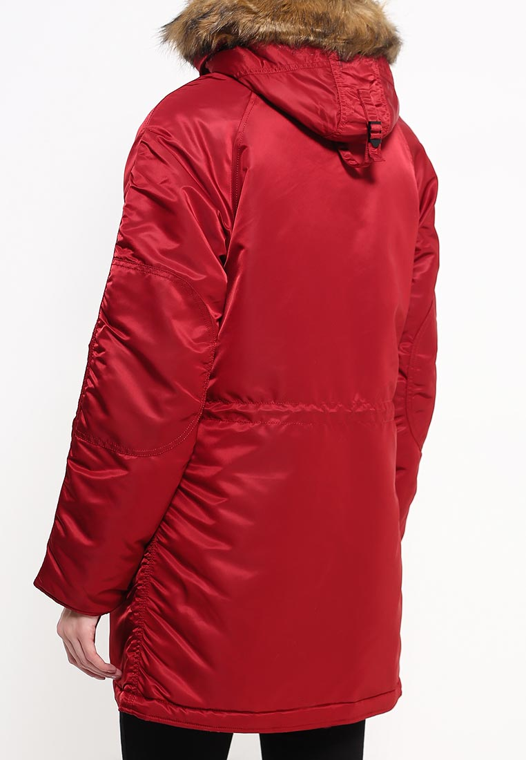 Утепленная куртка Alpha Industries (Альфа Индастриз) 199.WJN44502C1..COMMANDER RED: изображение 4
