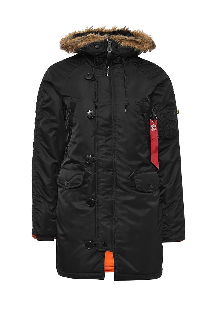 Утепленная куртка Alpha Industries (Альфа Индастриз) 199.WJN44502C1..BLACK: изображение 5
