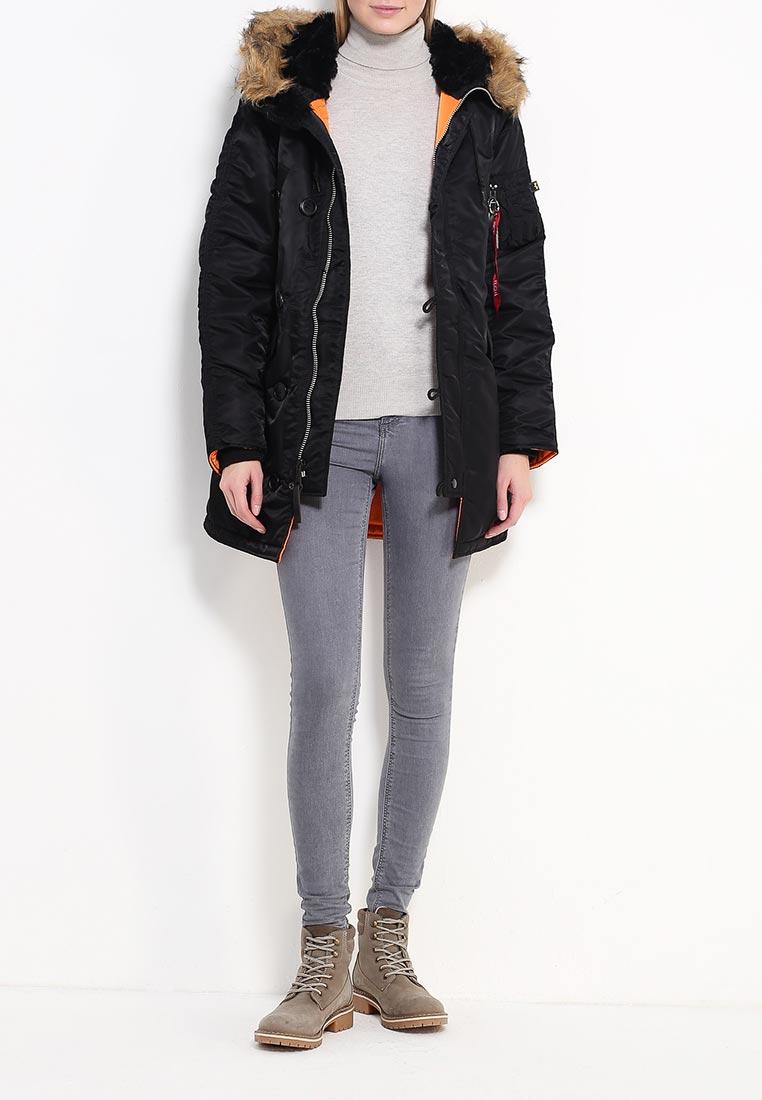 Утепленная куртка Alpha Industries (Альфа Индастриз) 199.WJN44502C1..BLACK: изображение 6