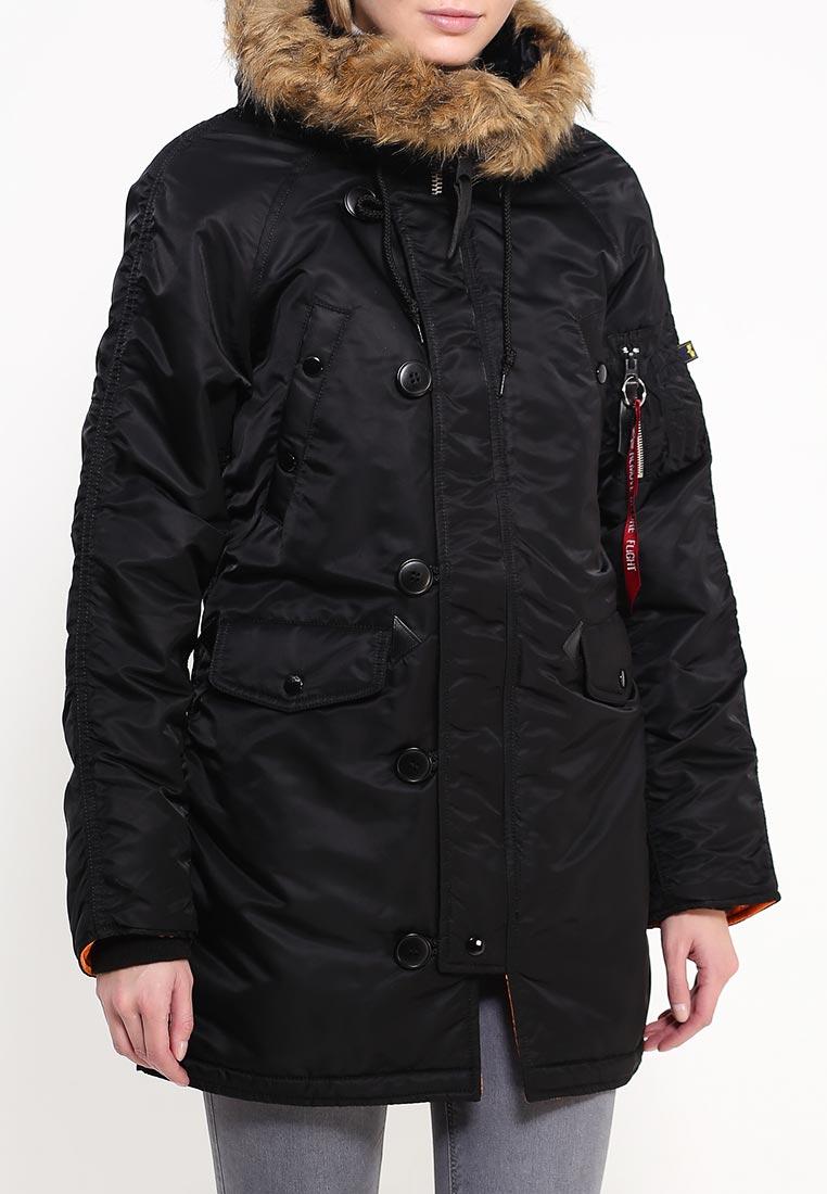 Утепленная куртка Alpha Industries (Альфа Индастриз) 199.WJN44502C1..BLACK: изображение 7