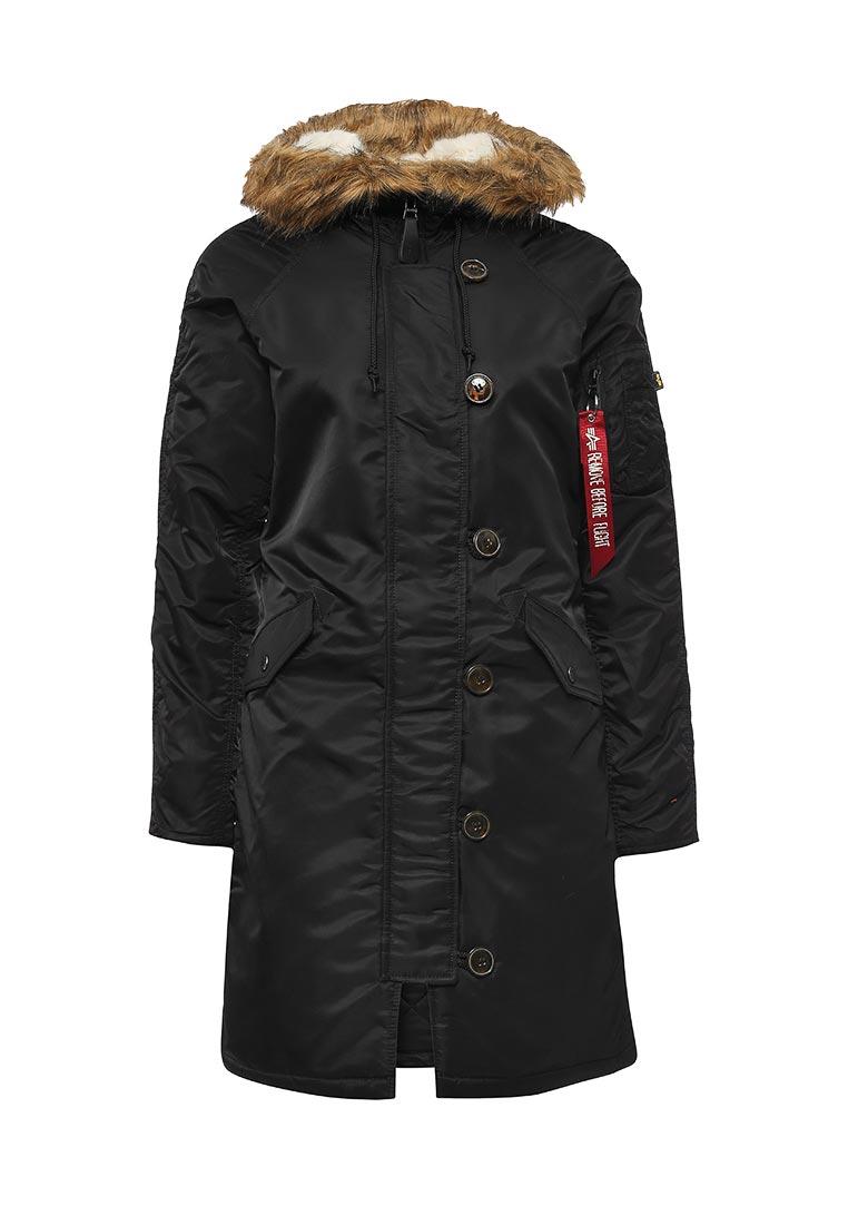 Утепленная куртка Alpha Industries (Альфа Индастриз) 199.WJE45500C1..BLACK: изображение 6