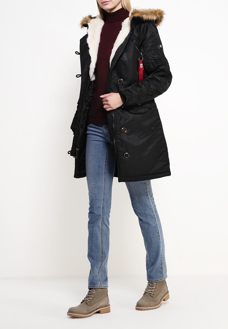 Утепленная куртка Alpha Industries (Альфа Индастриз) 199.WJE45500C1..BLACK: изображение 7