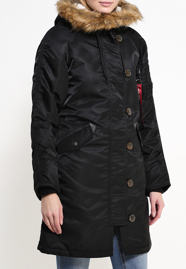Утепленная куртка Alpha Industries (Альфа Индастриз) 199.WJE45500C1..BLACK: изображение 8