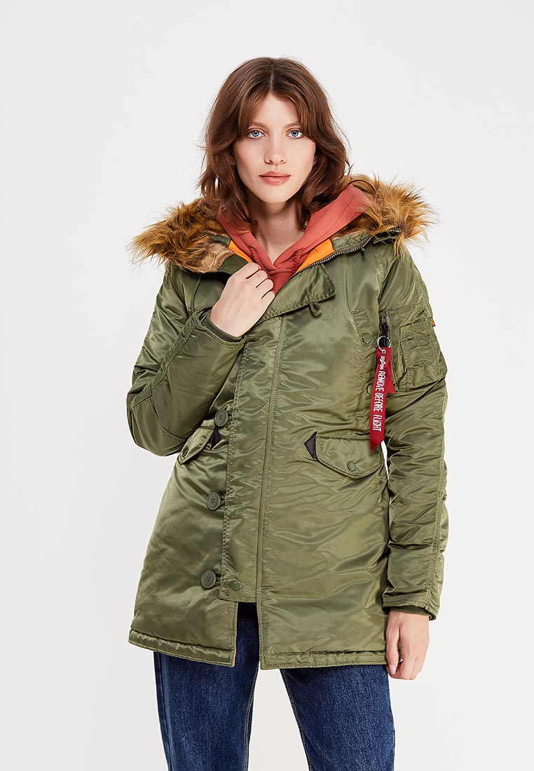 Куртка Alpha Industries (Альфа Индастриз) 113007
