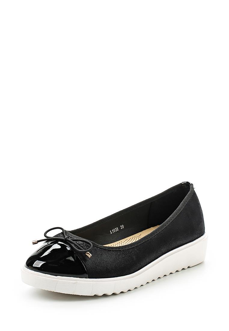 Туфли на плоской подошве Anesia L-1038