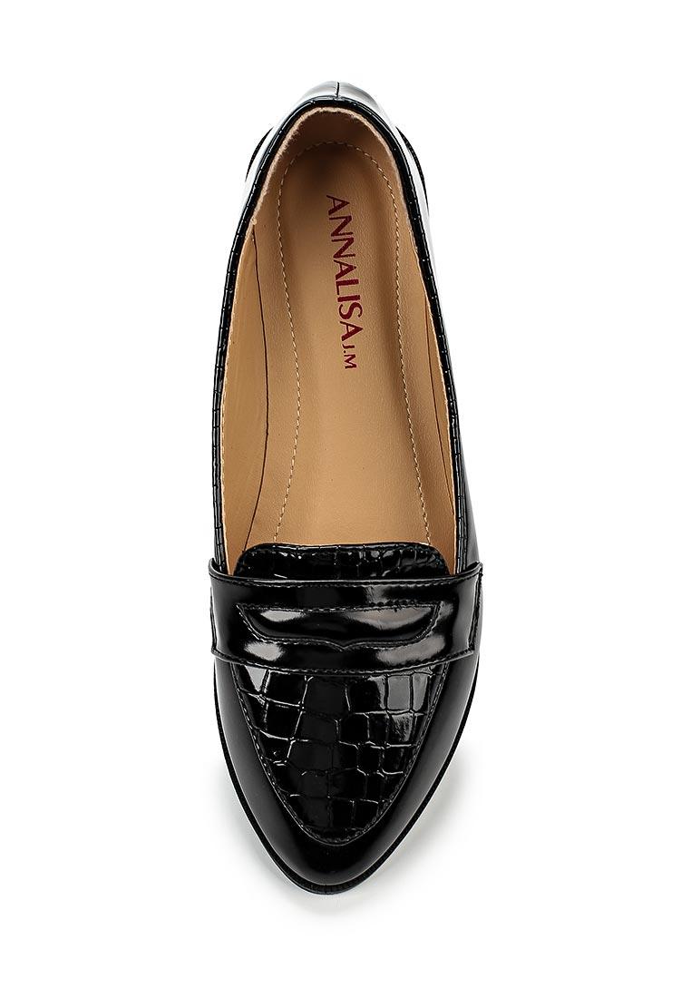 Туфли на плоской подошве Annalisa JM-B169: изображение 4