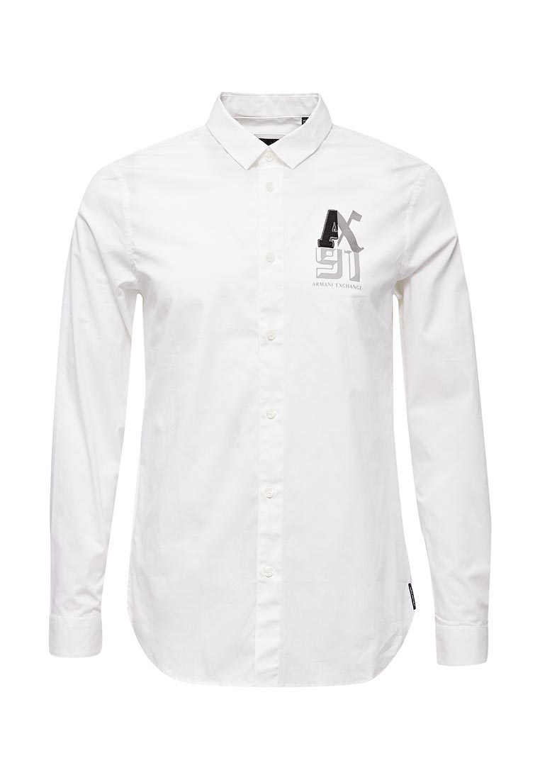Рубашка с длинным рукавом Armani Exchange 6YZC44 ZNALZ