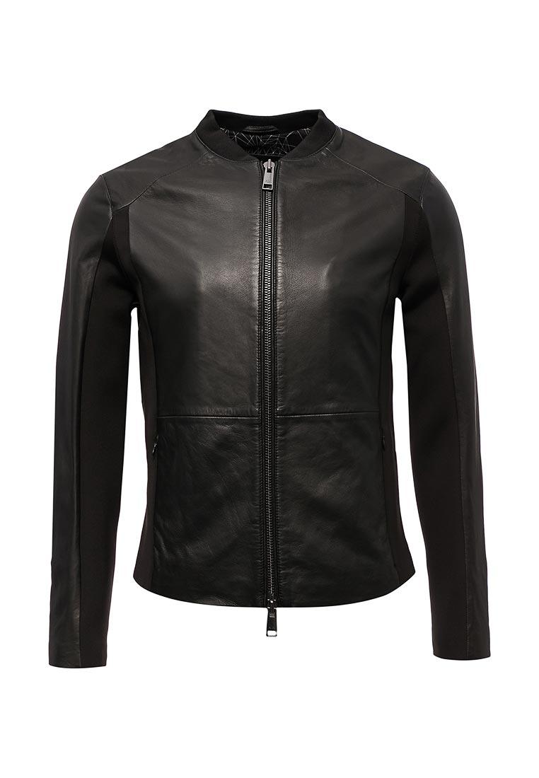 Кожаная куртка Armani Exchange 6YZB03 ZN23Z