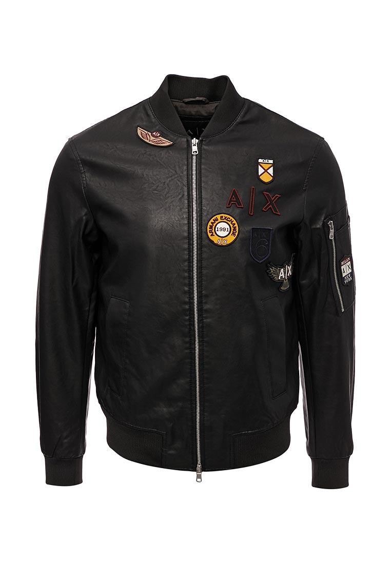 Кожаная куртка Armani Exchange 6YZB30 ZNV9Z