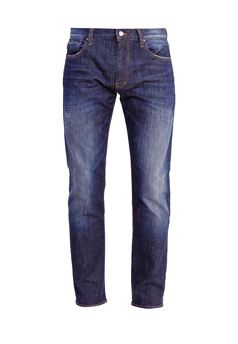 Мужские прямые джинсы Armani Exchange 6YZJ16 Z1ZAZ