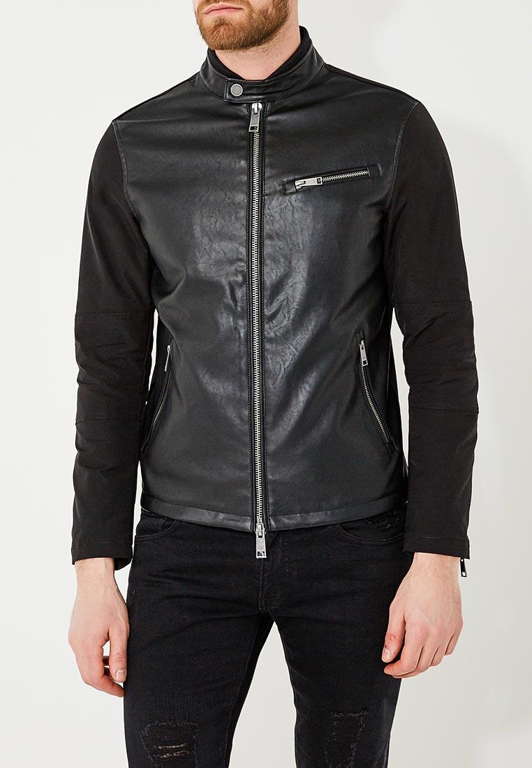 Кожаная куртка Armani Exchange 3ZZB06 ZNCTZ