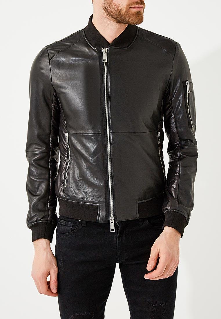 Кожаная куртка Armani Exchange 3ZZB20 ZL01Z