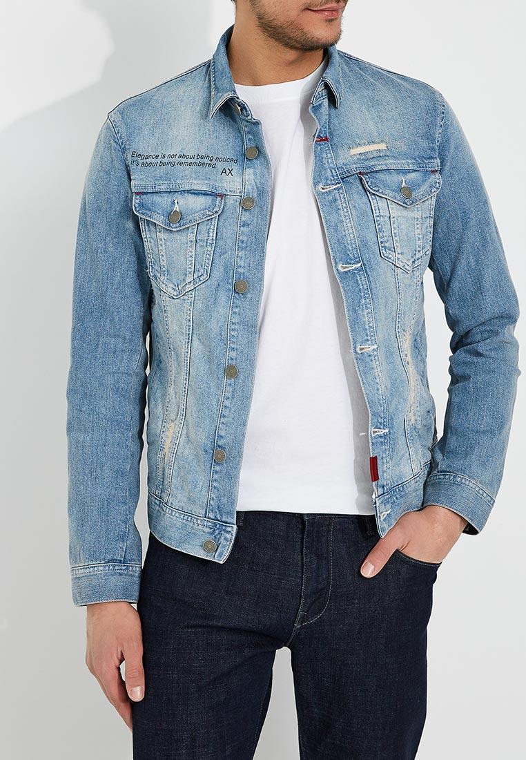 Джинсовая куртка Armani Exchange 3ZZB29 Z1FIZ