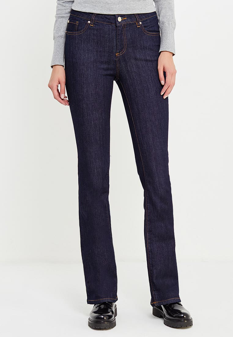 Широкие и расклешенные джинсы Armani Exchange 6YYJ65 Y2BFZ