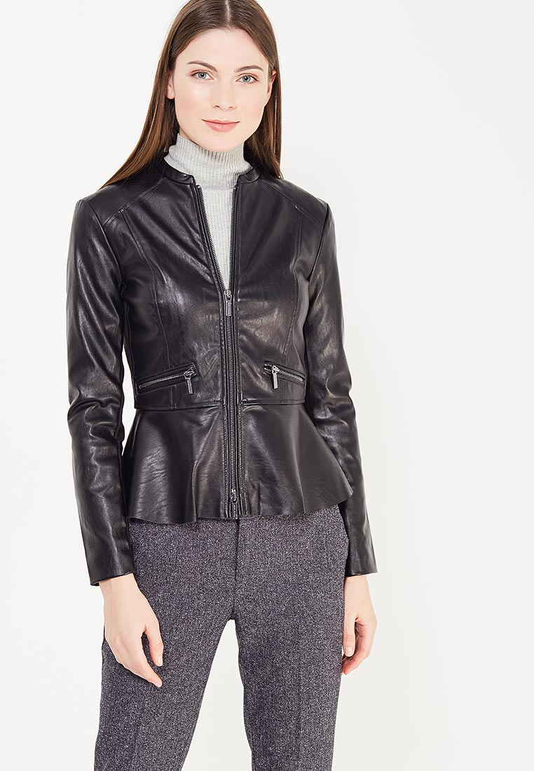 Кожаная куртка Armani Exchange 6YYB14 YNR8Z