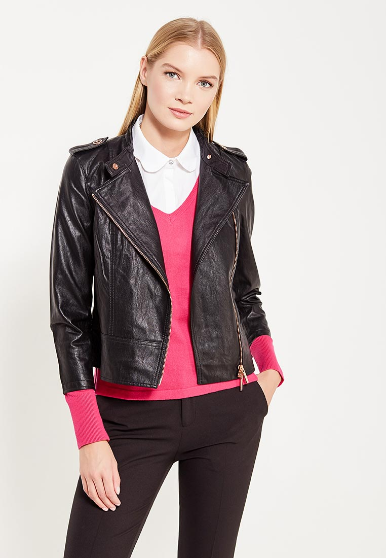 Кожаная куртка Armani Exchange 6YYB07 YNL5Z