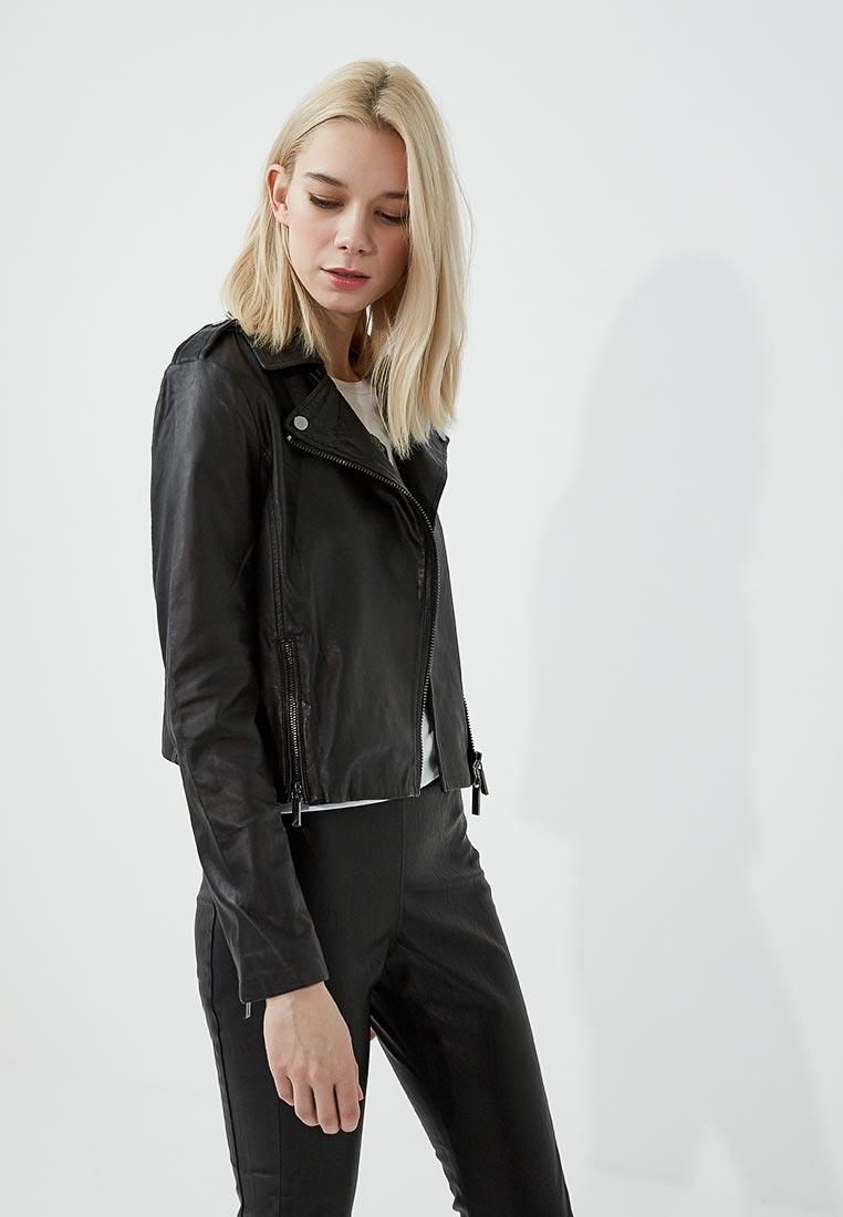 Кожаная куртка Armani Exchange 3ZYB40 YLB2Z