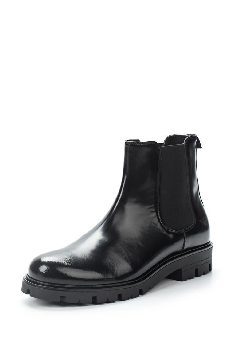 Ботинки для девочек Armani Junior 395513 7A051