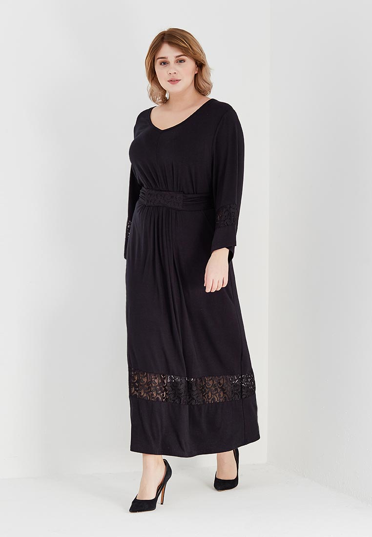 Вязаное платье Артесса PP32539BLK00