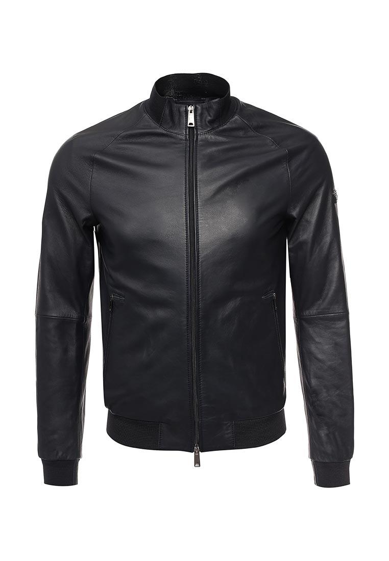 Кожаная куртка Armani Jeans (Армани Джинс) 3y6b50 6LBBZ