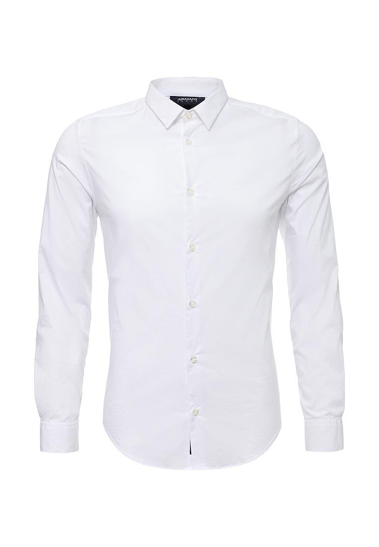 Рубашка с длинным рукавом Armani Jeans (Армани Джинс) 8N6C09 6N06Z: изображение 1