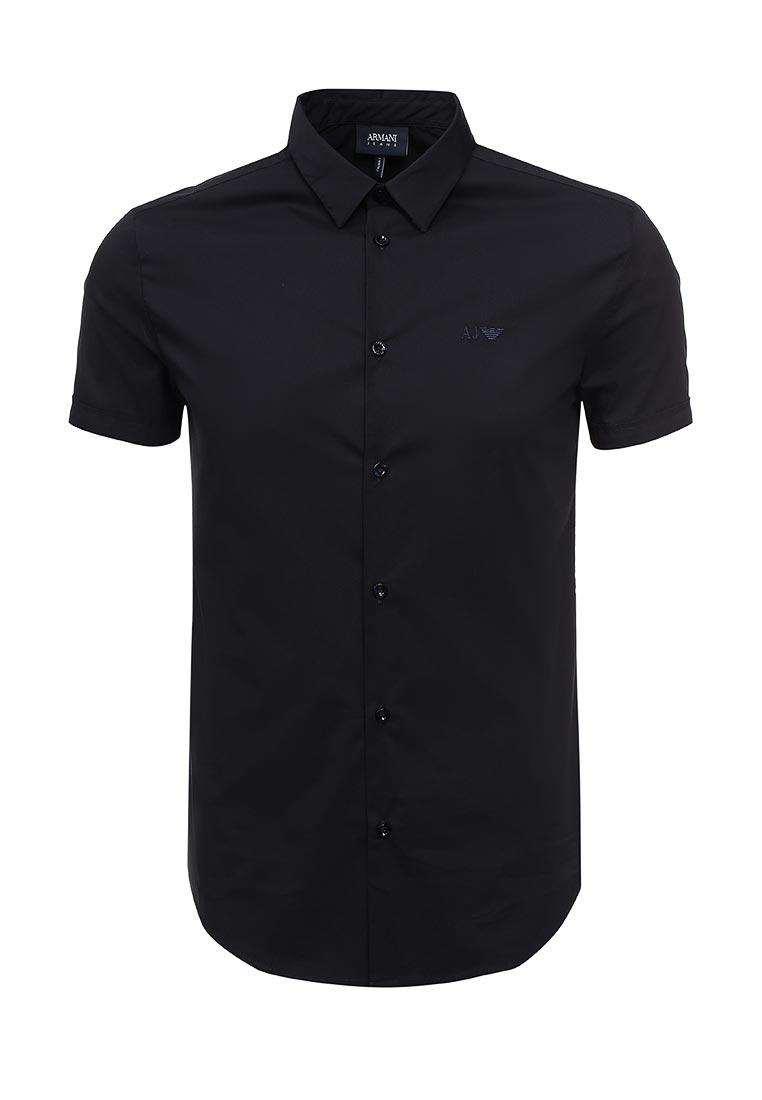 Рубашка с коротким рукавом Armani Jeans (Армани Джинс) 8n6c10 6N06Z