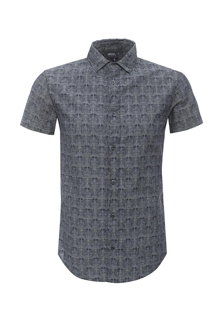Рубашка с коротким рукавом Armani Jeans (Армани Джинс) 3y6c25 6N2TZ