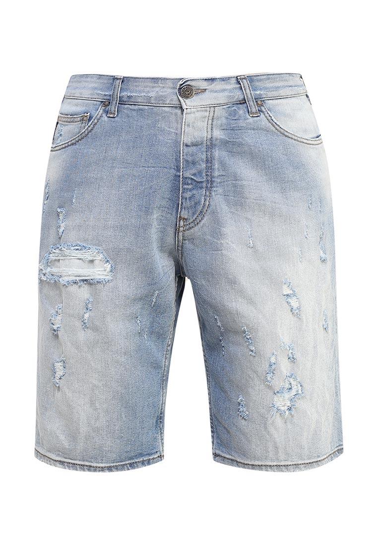 Мужские джинсовые шорты Armani Jeans (Армани Джинс) 3y6s26 6D2JZ