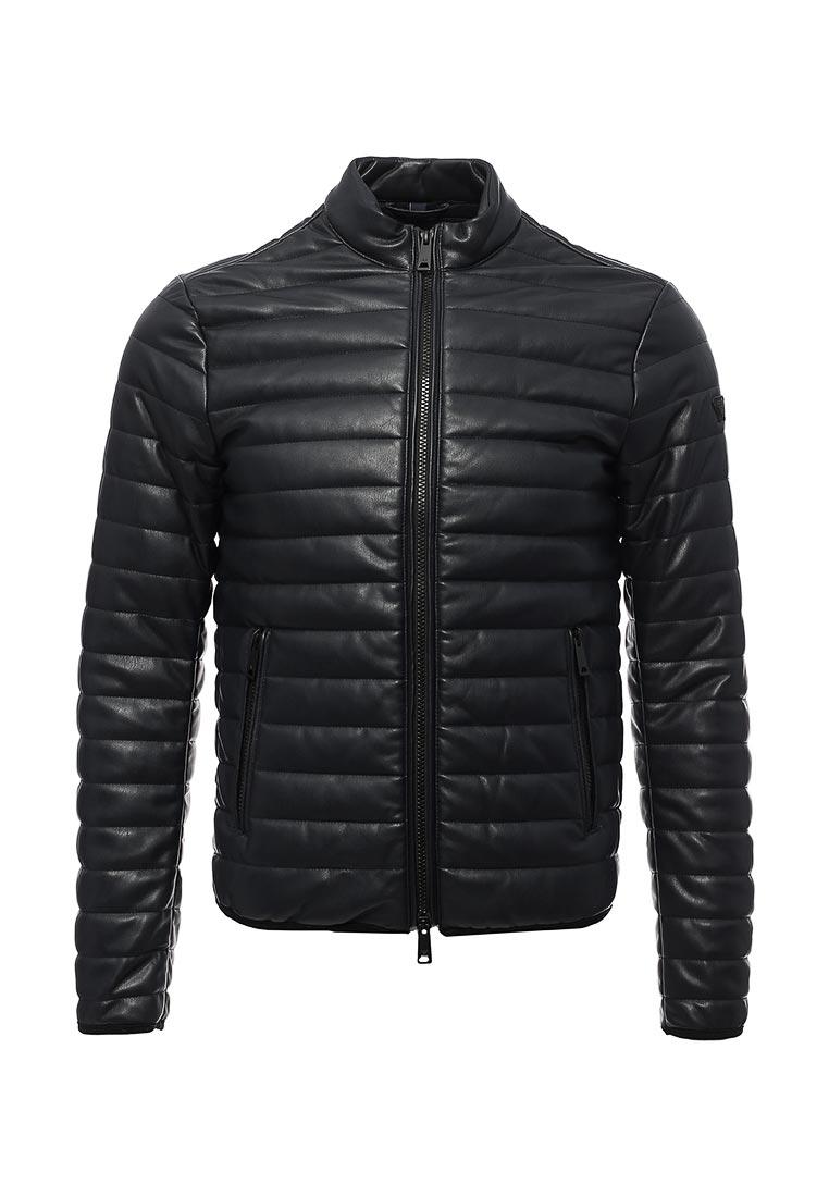 Кожаная куртка Armani Jeans (Армани Джинс) 6Y6b75 6EAAZ