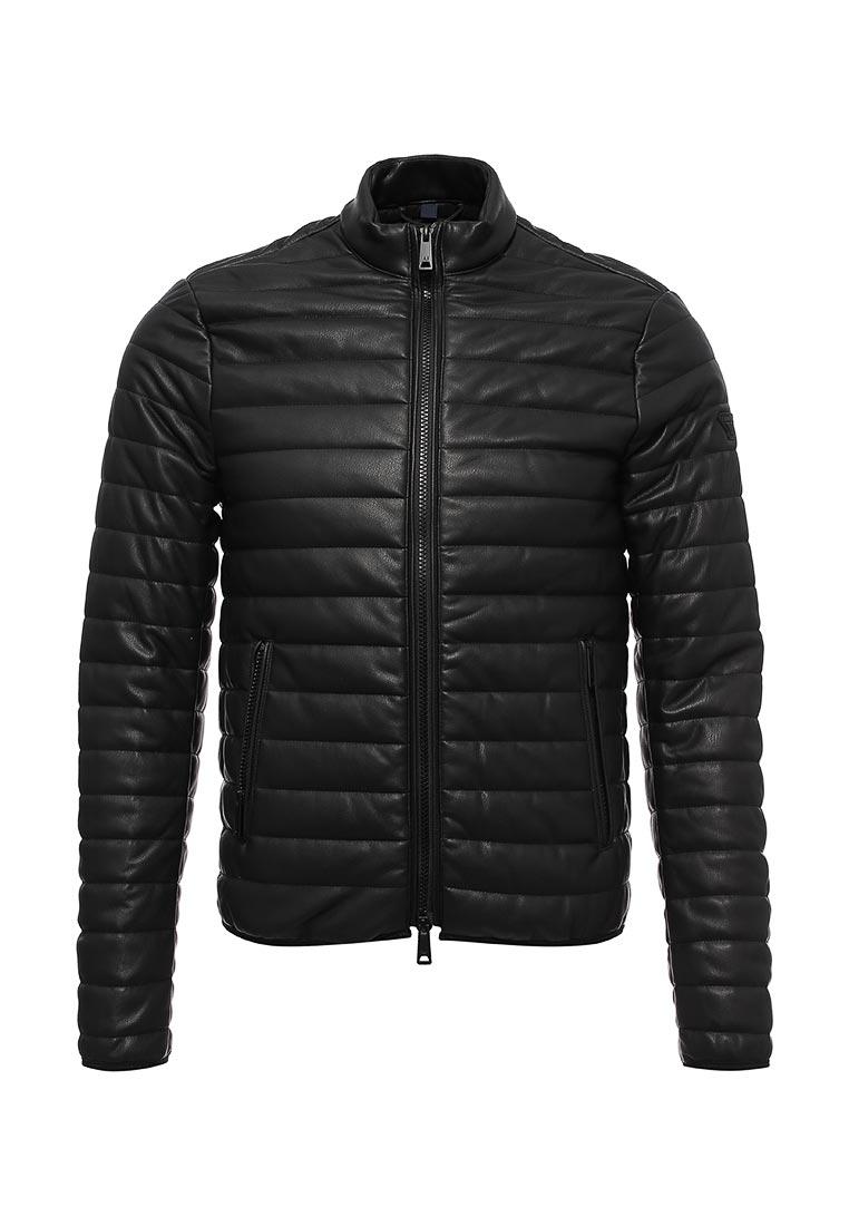 Кожаная куртка Armani Jeans (Армани Джинс) 6Y6B75 6EAAZ: изображение 1