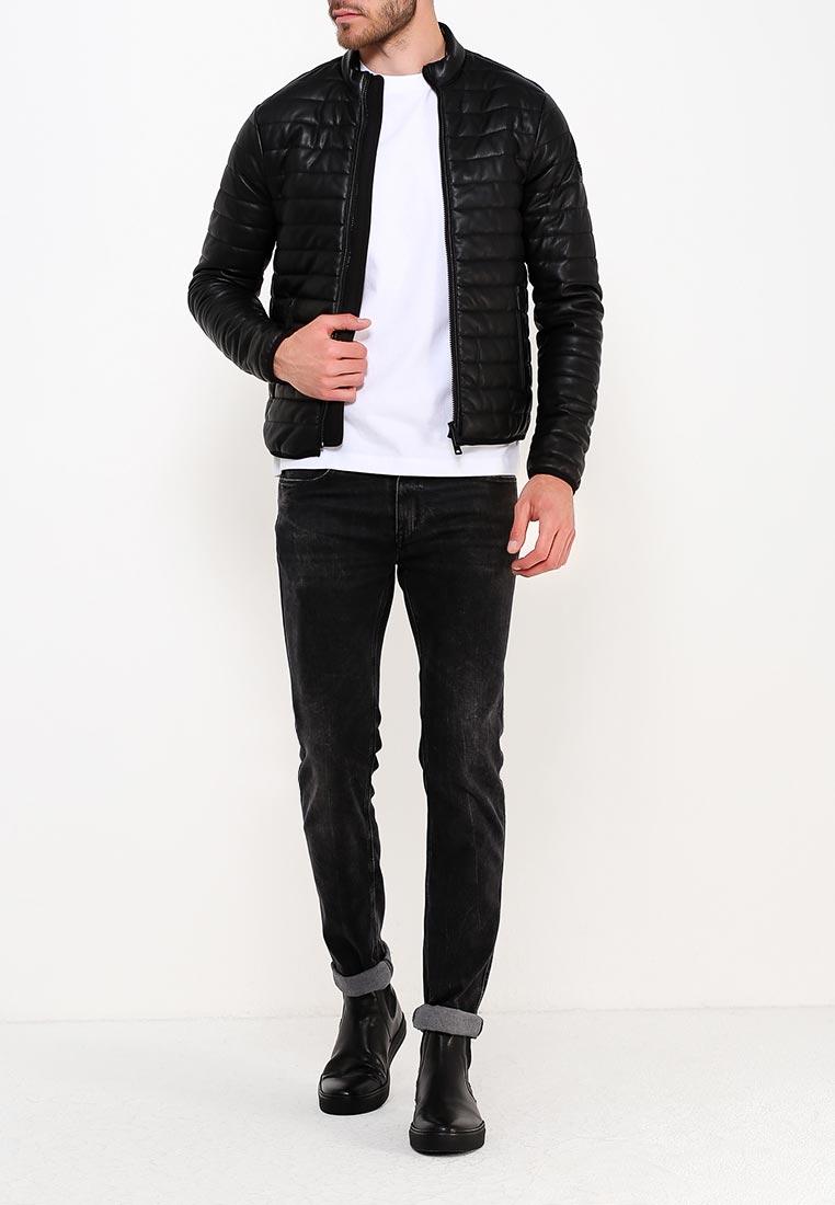 Кожаная куртка Armani Jeans (Армани Джинс) 6Y6B75 6EAAZ: изображение 2