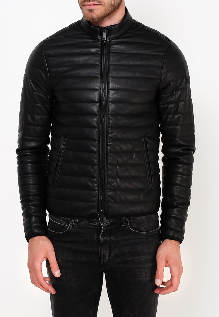 Кожаная куртка Armani Jeans (Армани Джинс) 6Y6B75 6EAAZ: изображение 3