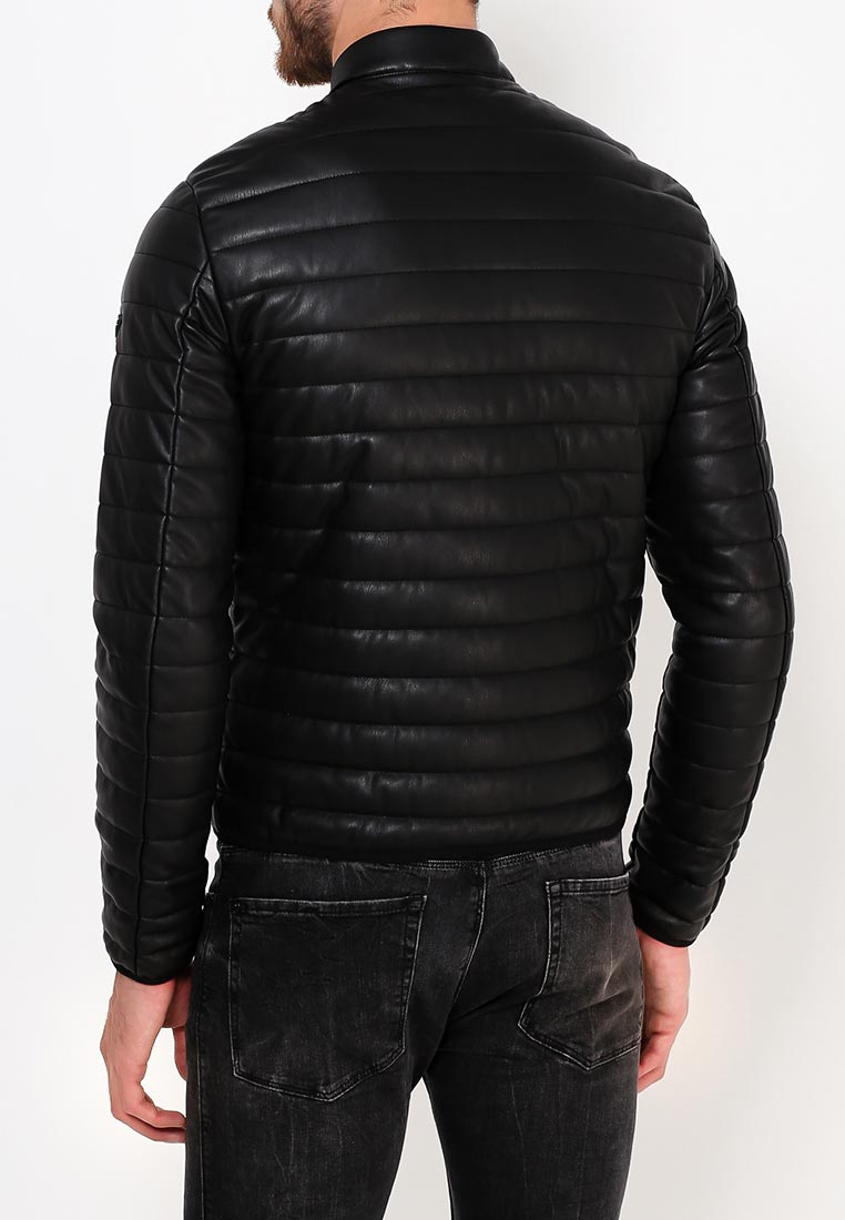 Кожаная куртка Armani Jeans (Армани Джинс) 6Y6B75 6EAAZ: изображение 4