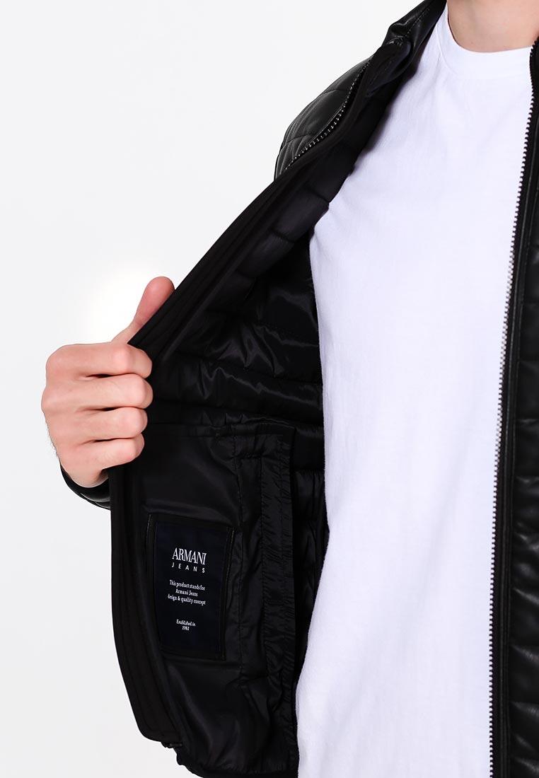 Кожаная куртка Armani Jeans (Армани Джинс) 6Y6B75 6EAAZ: изображение 5